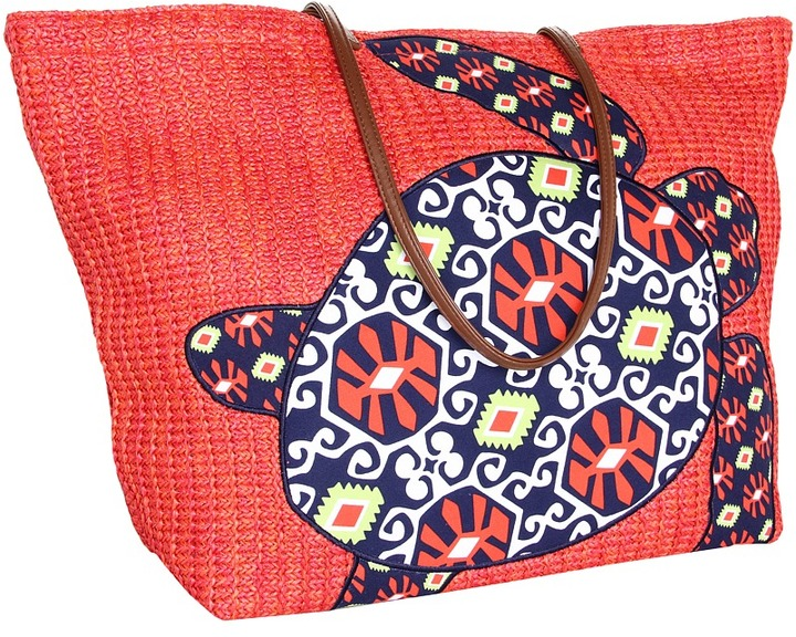 Vera Bradley Seashore Tote (Sun Valley) - Bags and Luggage