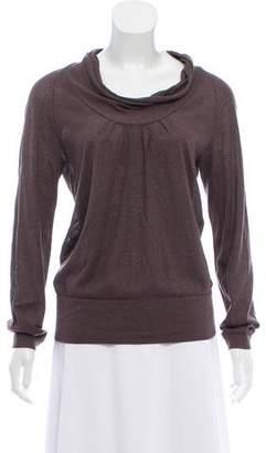HUGO BOSS Boss by Silk Cowl-Neck Sweater
