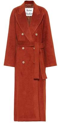 Acne Studios Mohair and wool-blend coat