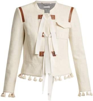 Altuzarra Avenue tie-detail jacket