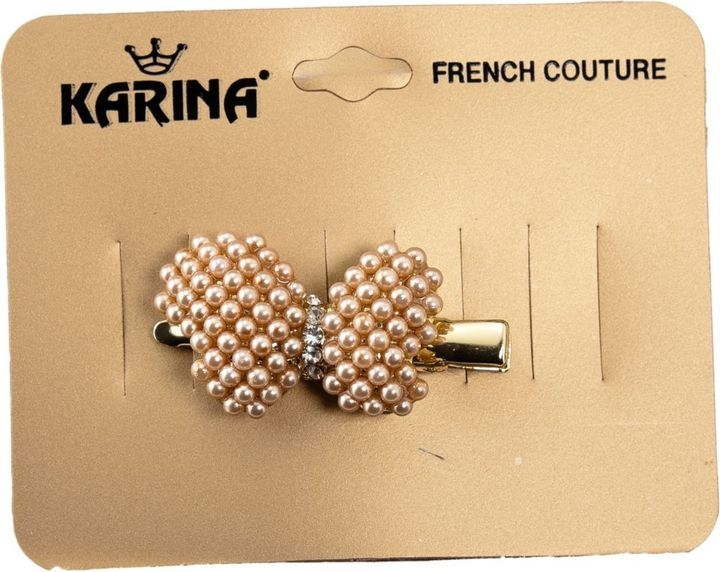 Karina Pearl Butterfly Clip