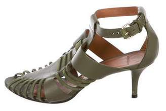 Givenchy Leather Multi-Strap Sandals