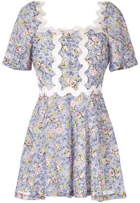 Alice McCall Lady floral print playsuit