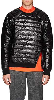 Siki Im Men's Channel-Quilted Zip Sweatshirt