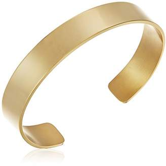 18k Gold Plated Stainless Steel Cuff Bracelet