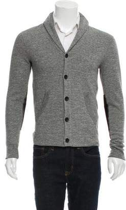 Rag & Bone Woven Button-Up Cardigan