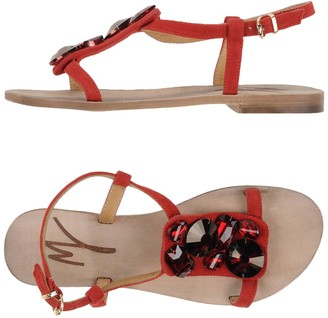 Manila Grace DENIM Sandals