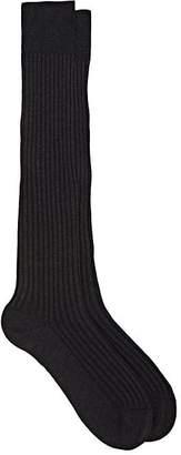 Barneys New York Men's Rib-Knit Cotton-Blend Knee Socks