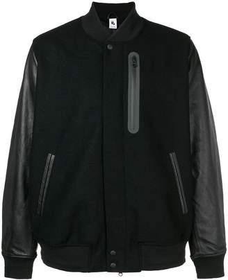 Nike panelled bomber jacket