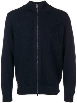 HUGO BOSS full-zipped cardigan
