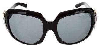 Roger Vivier Buckle Tinted Sunglasses