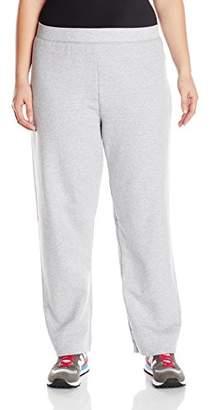 5b30b048f43 Just My Size ComfortSoft EcoSmart Fleece Open-Hem Womens Sweatpants, Average  Length OJ100 -