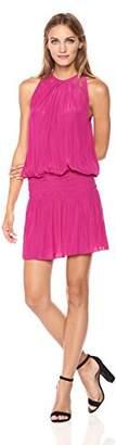 Ramy Brook Paris Sleeveless Elastic Waist Mini Dress