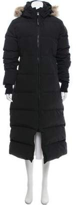 Canada Goose Black Mystique Parka Coat