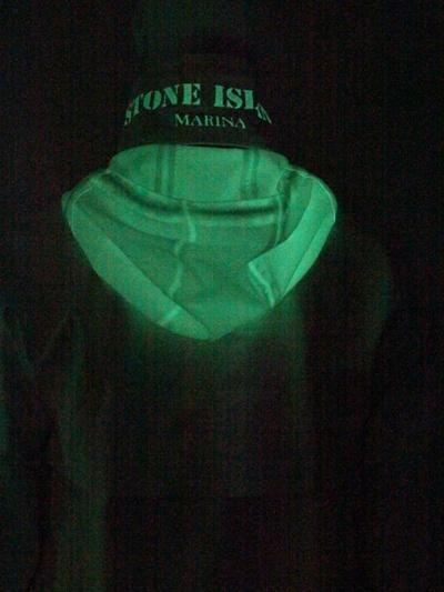 Stone Island Glow In The Dark Techno Nylon Jacket