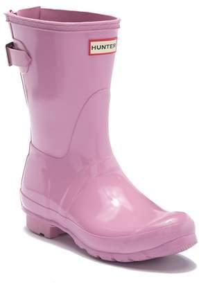 Hunter Adjustable Back Strap Glossy Boot