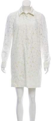 Diane von Furstenberg LeeAndra Floral Lace Dress