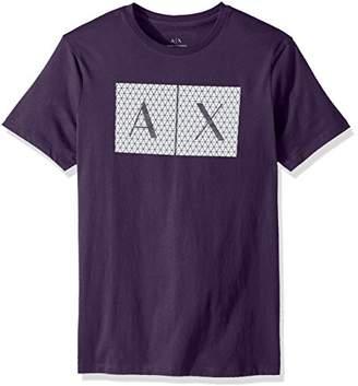 Armani Exchange A X Men's Crew Quited Logo Tee