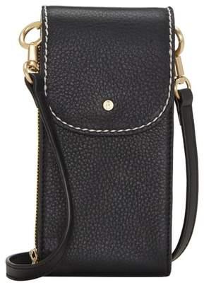 ED Ellen Degeneres Small Baja Leather Crossbody Bag