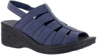 Easy Street Shoes Floaty Womens Wedge Sandals Narrow