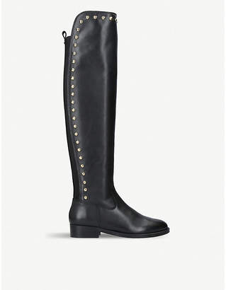 Kurt Geiger London Volt over-the-knee leather boots