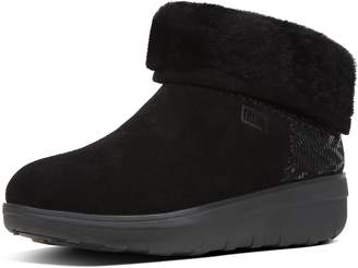 FitFlop Mukluk Shorty Ii Chevron-Suede Boots