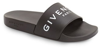 Women's Givenchy Logo Slide