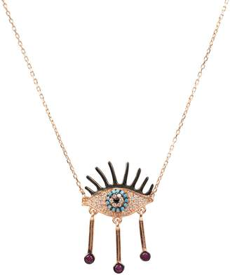 Rosegold Latelita - Eye Of Horus Necklace