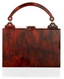 Edie Parker Housewife Acrylic Top Handle Bag