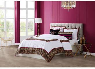 Juicy Couture Regent Leopard 3-Piece Queen Comforter Set Bedding