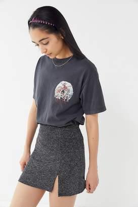 Urban Outfitters Sparkly Metallic Mini Skirt