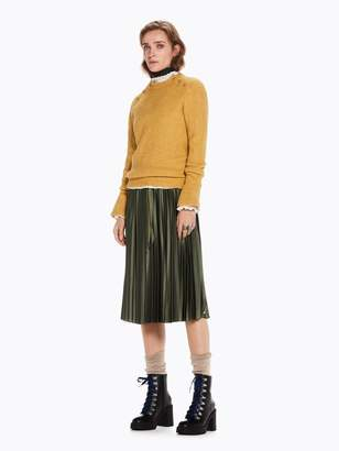 Scotch & Soda Silky Pleated Skirt