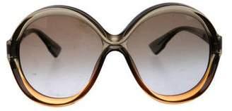 Christian Dior Bianca Oversize Sunglasses