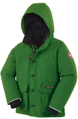 Canada Goose Boys' Vernon Hooded Down Parka, Jade Green, Size XS(6-7)-XL(12-14) $495 thestylecure.com