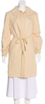 Isabel Marant Pointed Collar Knee-Length Coat