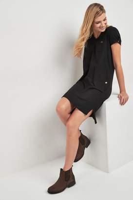 Barbour Womens International Black Meribel Oversized T-Shirt Dress - Black