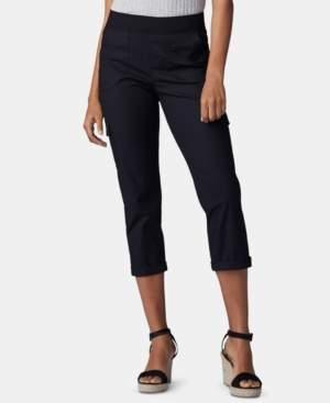 Lee Platinum Petite Pull-On Cargo Capri Pants