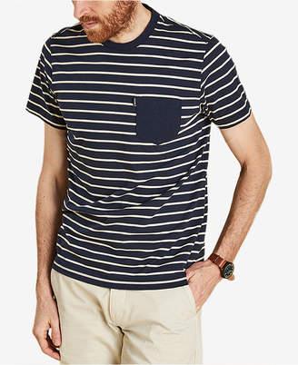 Barbour Men's Tow Stripe Cotton T-Shirt