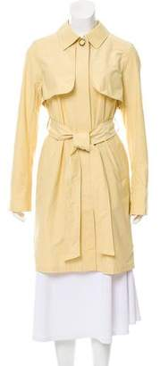 Courreges Collard Knee-Length Coat