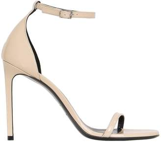 Saint Laurent 110mm Jane Patent Leather Sandals