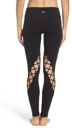 Women's Alo Entwine Yoga Leggings $108 thestylecure.com