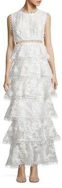 Zimmermann Winsome Tier Vine Silk Gown $1,950 thestylecure.com