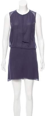 Acne Studios Twist Silk Dress