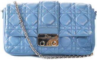 Christian Dior Blue Leather Miss Promenade Crossbody