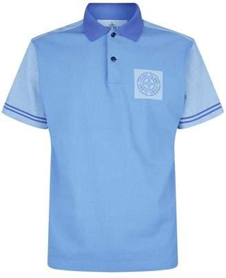 Stone Island Colour-Block Polo Shirt