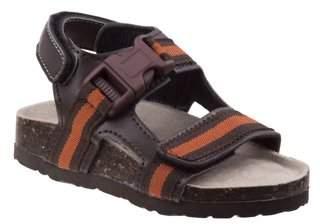 Rugged Bear Boys' Buckle Sandals