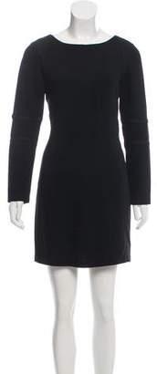Rag & Bone Long Sleeve Scoop Neckline Dress