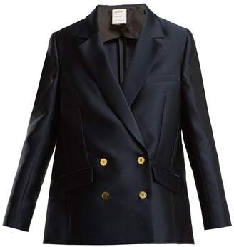Maison Rabih Kayrouz Double-breasted satin jacket