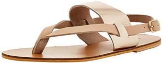 Warehouse Toe Post Sandal, Women's T-Bar T-Bar Sandals,(38 EU)