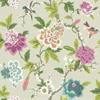 York Wall Coverings York Wallcoverings Waverly Candid Moment 33' x 20.5 Floral and Botanical Wallpaper Roll